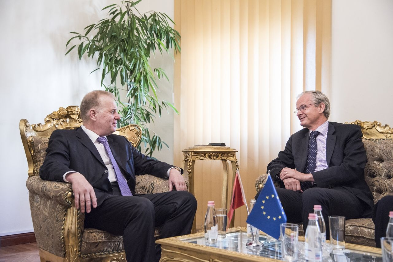 "Pollo meets EC's  Danielsson: ""EU would help by speaking truth to power"""