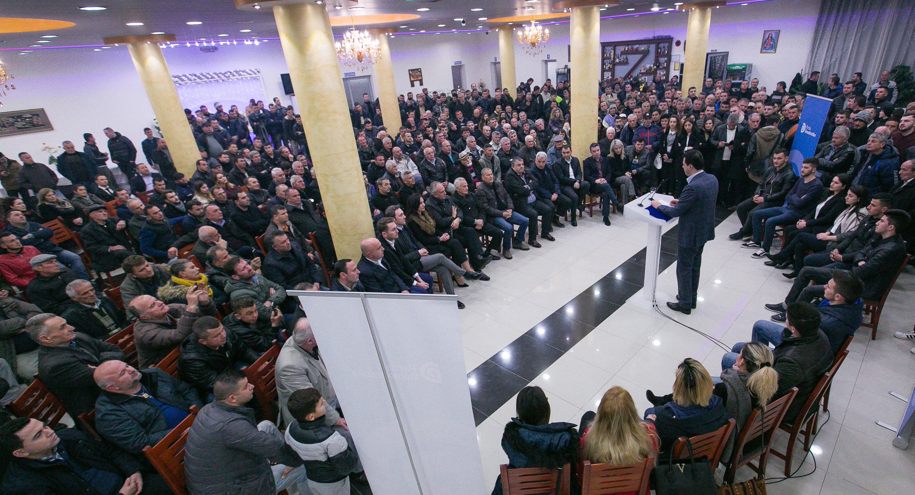 Njoftim për takimin e Kryetarit të Partisë Demokratike, Lulzim Basha në Vaun e Dejës