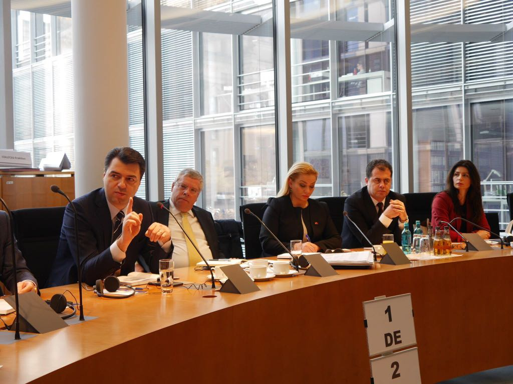 Njoftim pas takimeve të Kryetarit Basha në Berlin