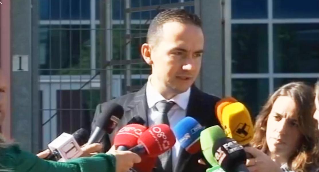 Prononcimi për mediat i deputetit Ervin Salianji pas daljes nga Prokuroria e Krimeve të Rënda