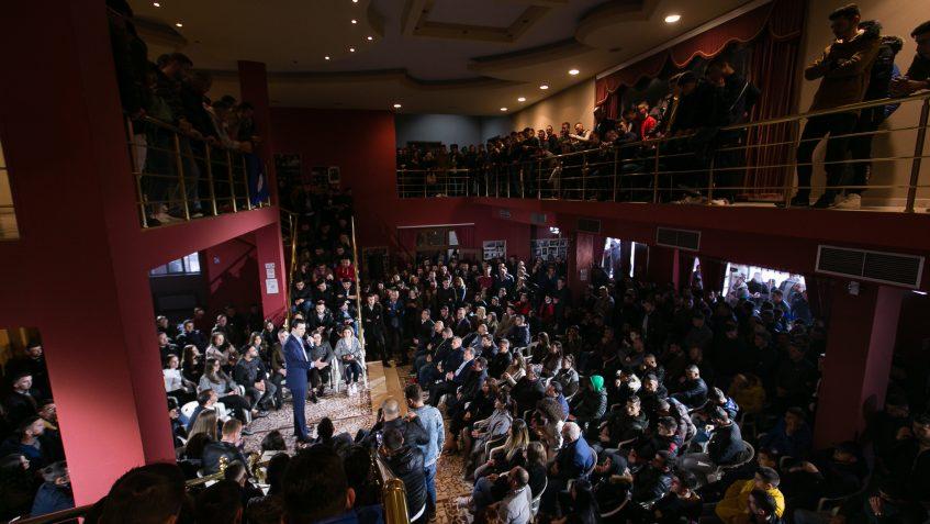Protesta e drejtë e studentëve i parapriu këtij zgjimi kombëtar, i parapriu bashkimit të shqiptarëve