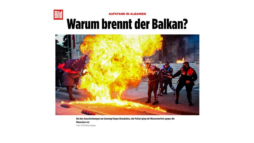 UPRISE IN ALBANIA : Why is the Balkans burning?
