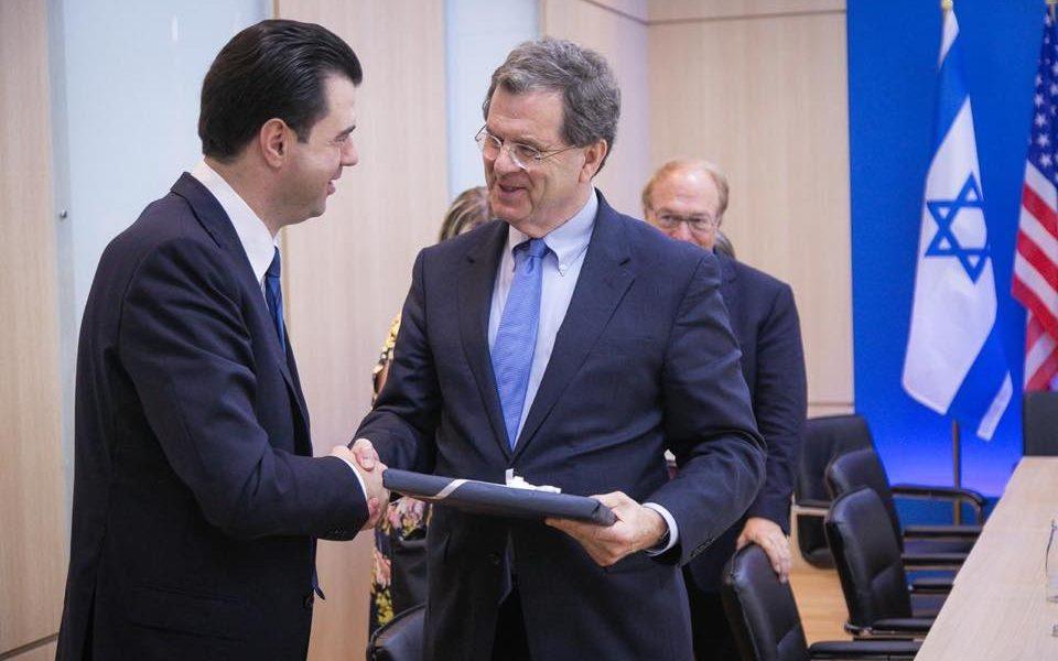 Basha: Pata një takim të përzemërt me delegacionin e Komitetit Amerikano- Hebraik AJC