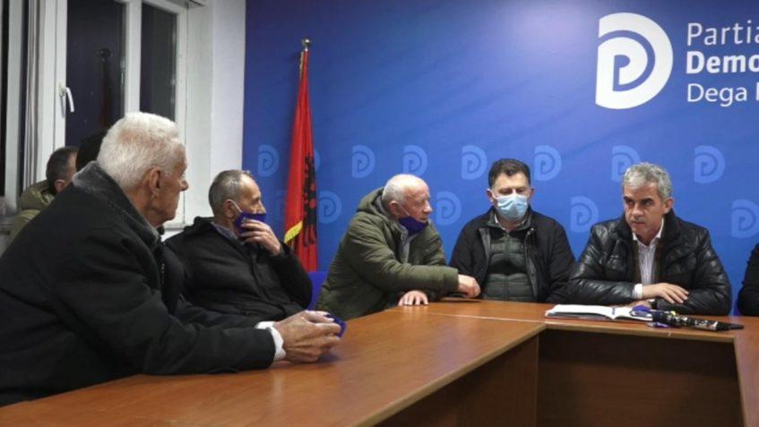 • Flamur Hoxha me ish-të përndjekurit politikë në Kukës: PD do të ofrojë mbështetje serioze pas fitores së 25 prillit.