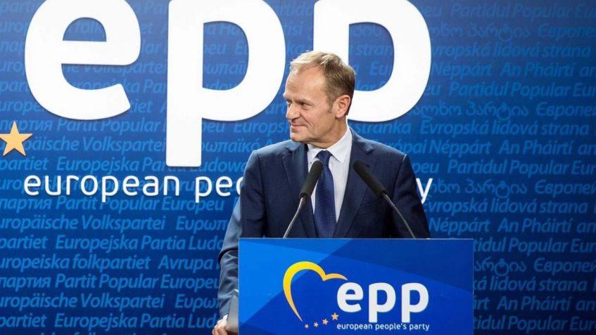 Video/Presidenti i PPE Donald Tusk: Lulzim Basha do të realizojë integrimin në Bashkimin Europian.