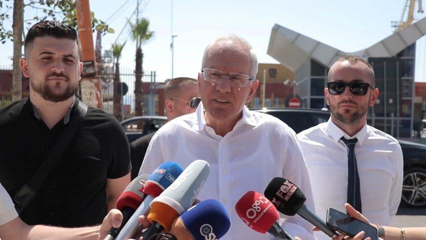 Ferdinand Xhaferri: Dy pyetje për Edi Ramën, Maketi i Portit të Durrësit apo lavatriçja e parave të ndotura të Rilindjes?